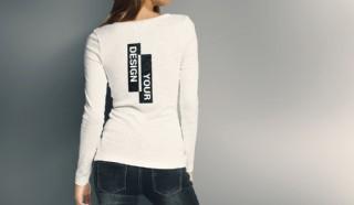 T恤圖案效果圖樣機