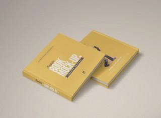 硬皮畫冊封面效果圖樣機
