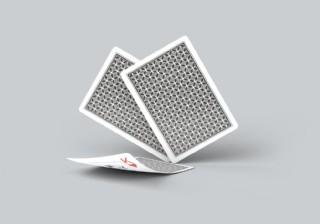 撲克牌圖案效果圖樣機