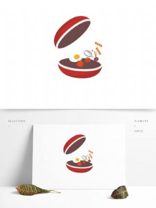 食物图案食材元素