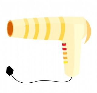 家用電器吹風機插畫