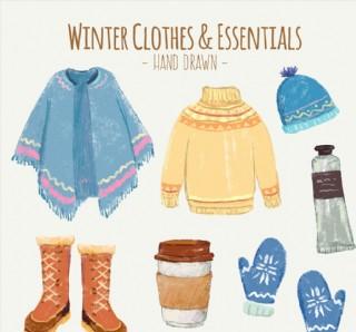 冬季时尚服饰和配饰