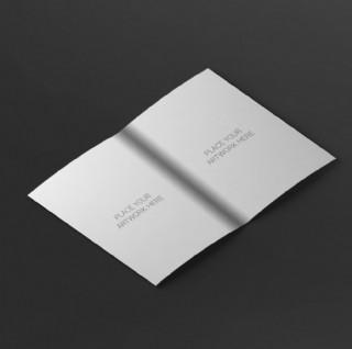 空白画册样机