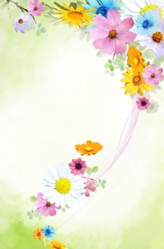 花紋底紋背景