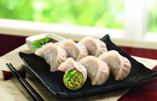 猪肉韭菜饺